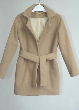 Пальто из итальянского кашемира рост 128 134