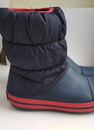 Ботинки сапожки crocs winter puff boot р.j1 (32-33) оригинал