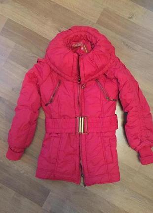 Красная куртка asos