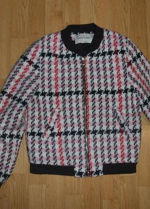 Куртка-бомберка на девочку 11 лет