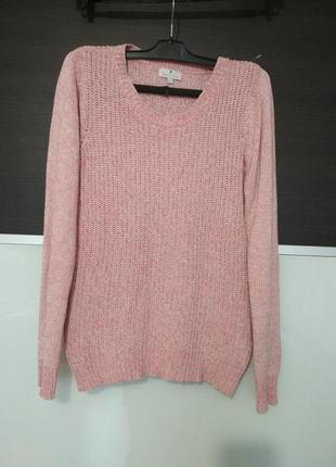 Нежно-розовый джемпер,свитер blue motion