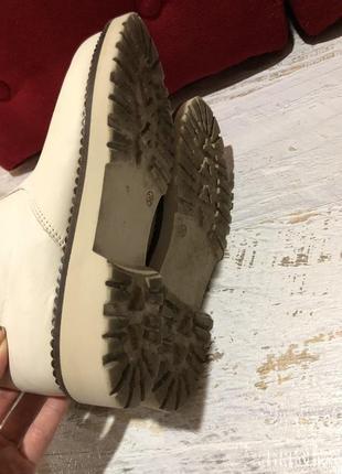 Натуральные фирменные ботинки 36р.5 фото