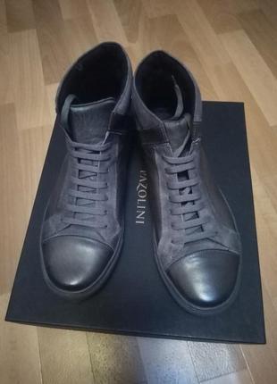 Ботинки натуральная кожа pazolini