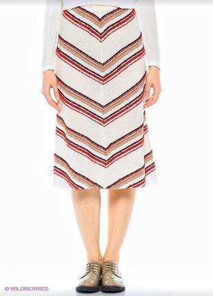 Крутейшая итальянская миди юбка в этно стиле 🔸 бренд united colores of benetton