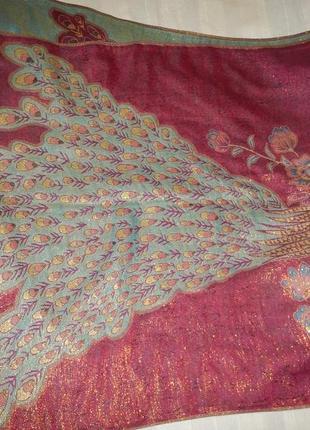Пашмина pashmina р. 166см х 70см шарф палантин