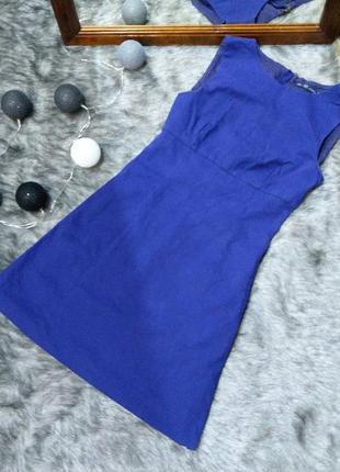 Платье с отрезной талией а-силуэта zara