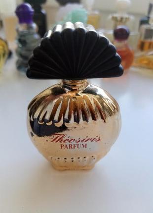 Винтажная миниатюра theosiris guy bouchara/parfum/чистые духи, 5 мл