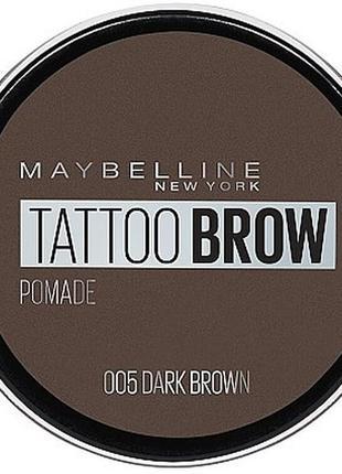 Сша maybelline new york tattoo brow помадка для бровей