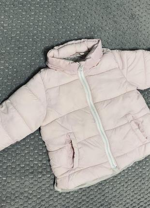 Курточка zara пудрового цвета
