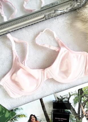 Мягкий бледно-розовый бюстгальтер на косточках secret possessions