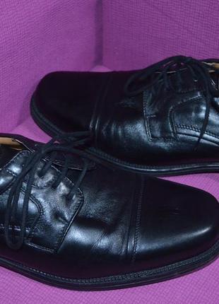 Мужские добротные кожаные туфли
