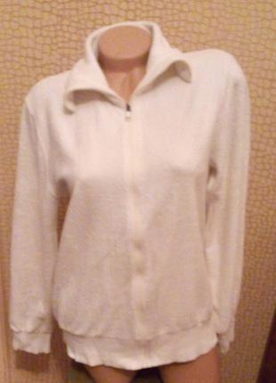 Велюровая курточка.размер 46-48.