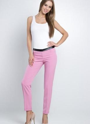 Потрясающие яркие брюки с стрелками  высокой талией и зауженной штанинкой/ d'amart