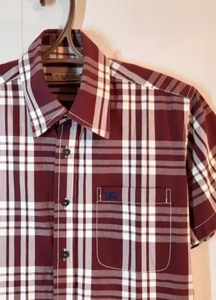 Burberry brit рубашка с коротким рукавом, тениска