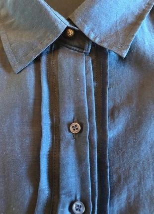 Брендовая шелковая блузка massimo dutti, оригинал, испания, новая, р-р 36\2