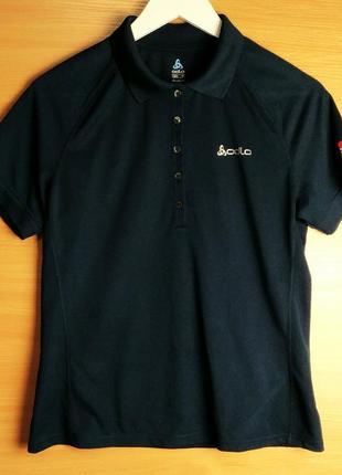 Тёмно-синяя спортивная футболка odlo 💙💙💙