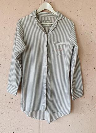 Пижама спальная рубашка для сна ночнушка