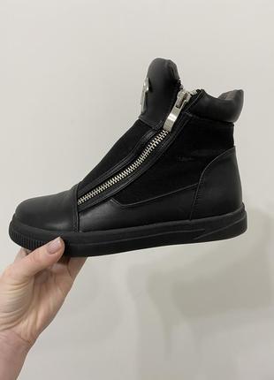 Сапоги ботинки на платформе