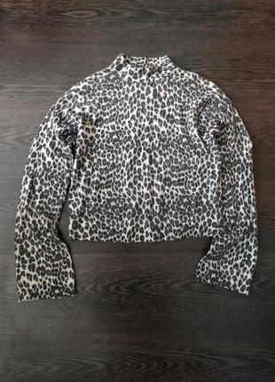 Гольф водолазка леопардовый принт topshop и много подарков 🎁🎁🌷🌺