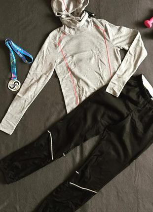 Утеплённый спортивный костюм для бега, спортэ