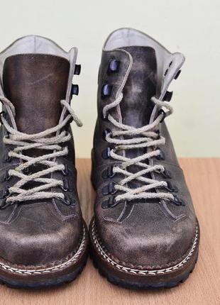 Крутые кожаные ботинки  на весну südtiroler schuhe италия