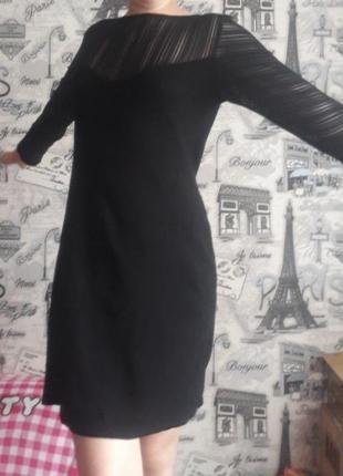 Продам вечернее коктельное выпускное черное платье 42-44 р