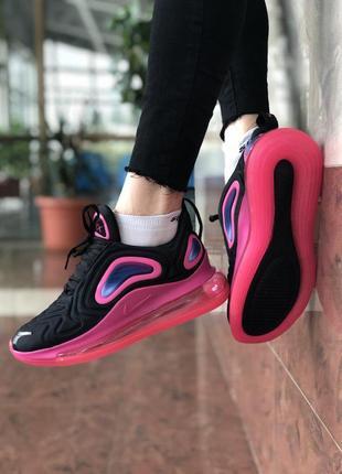 Nike air max 720 new black pink