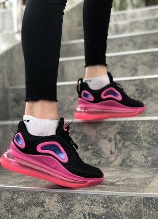 Женские стильные демисезонные кроссовки найк nike air max 720