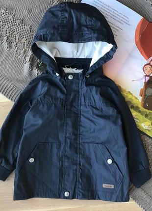 Ветровка весення куртка дождевик на котоновой подкладке