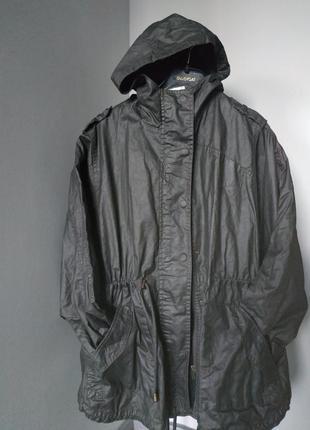Необычная коттоновая курточка оверсайз на подкладке tu
