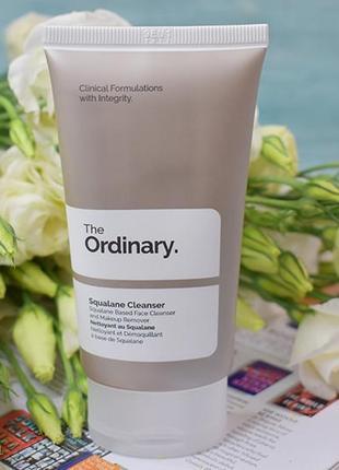 The ordinary squalane cleanser  средство для очищения кожи со скваланом