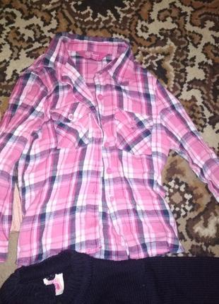 Детская рубашка 2,3г.