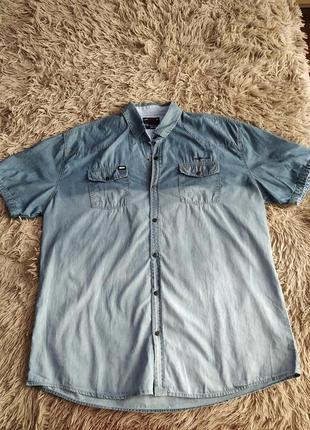 Рубашка летняя с коротким рукавом