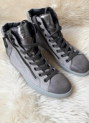 Кожаные ботинки paul green 39 размер австрия!