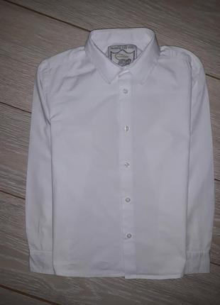 Белая рубашка monsoon на 8 лет