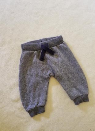 Спортивные штаны штанишки тёплые