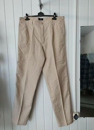 Круті лляні брюки великого розміру  new man