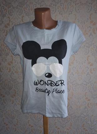 Х/б футболка с микки