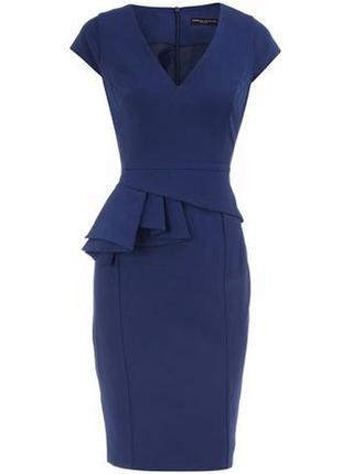 Стильное платье футляр на подкладке 18/52-54 размера