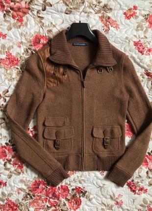 Шерстяна куртка ralf lauren