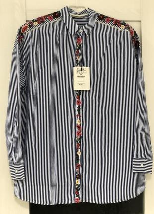 Блуза женская stradivarius с вышивкой