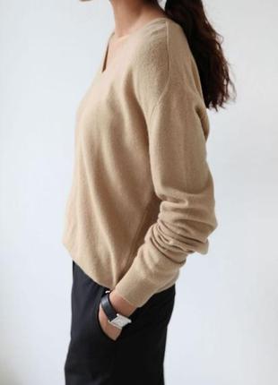 Базовый кашемировый свитер от gerry weber 100% кашемир