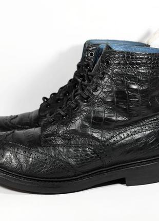 Ботинки броги tricker's stow croc размер 44