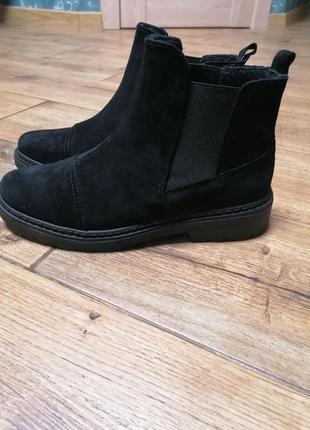 Ботинки челси inblu. замша. новая коллекция