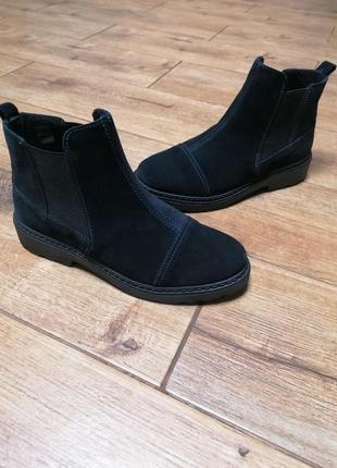Ботинки челси inblu. замша. новая коллекция.