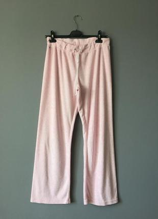 Домашние махровые штаны l--48-50 размер.