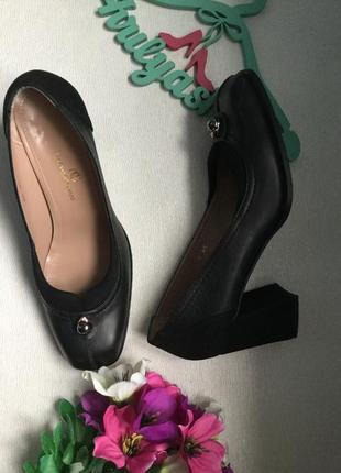 Туфли кожаные , сваровски, nazareno giani