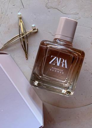 Духи zara tuberose summer/парфюм/туалетная вода/парфуми