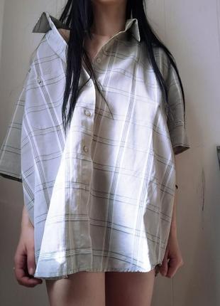 Рубашка оверсайз.
