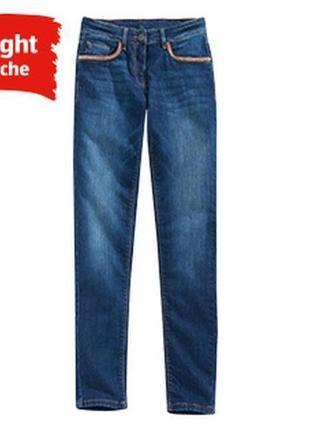 S(38)€ стрейч джинсы blue motion germany